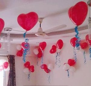 Anniversary Balloon Surprise