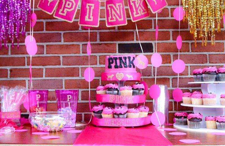pink theme decoration