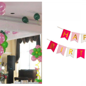 Polka Dot Birthday Decoration