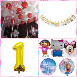Birthday decoration for girls