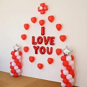 Love ballon decoration